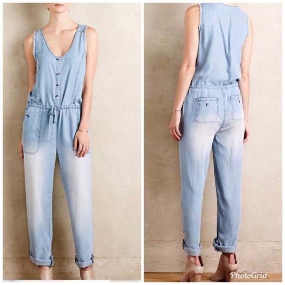 2ad83a458cf5 Anthropologie Pants - Anthropologie Hei Hei Clarion Soft Jumpsuit Sz. L